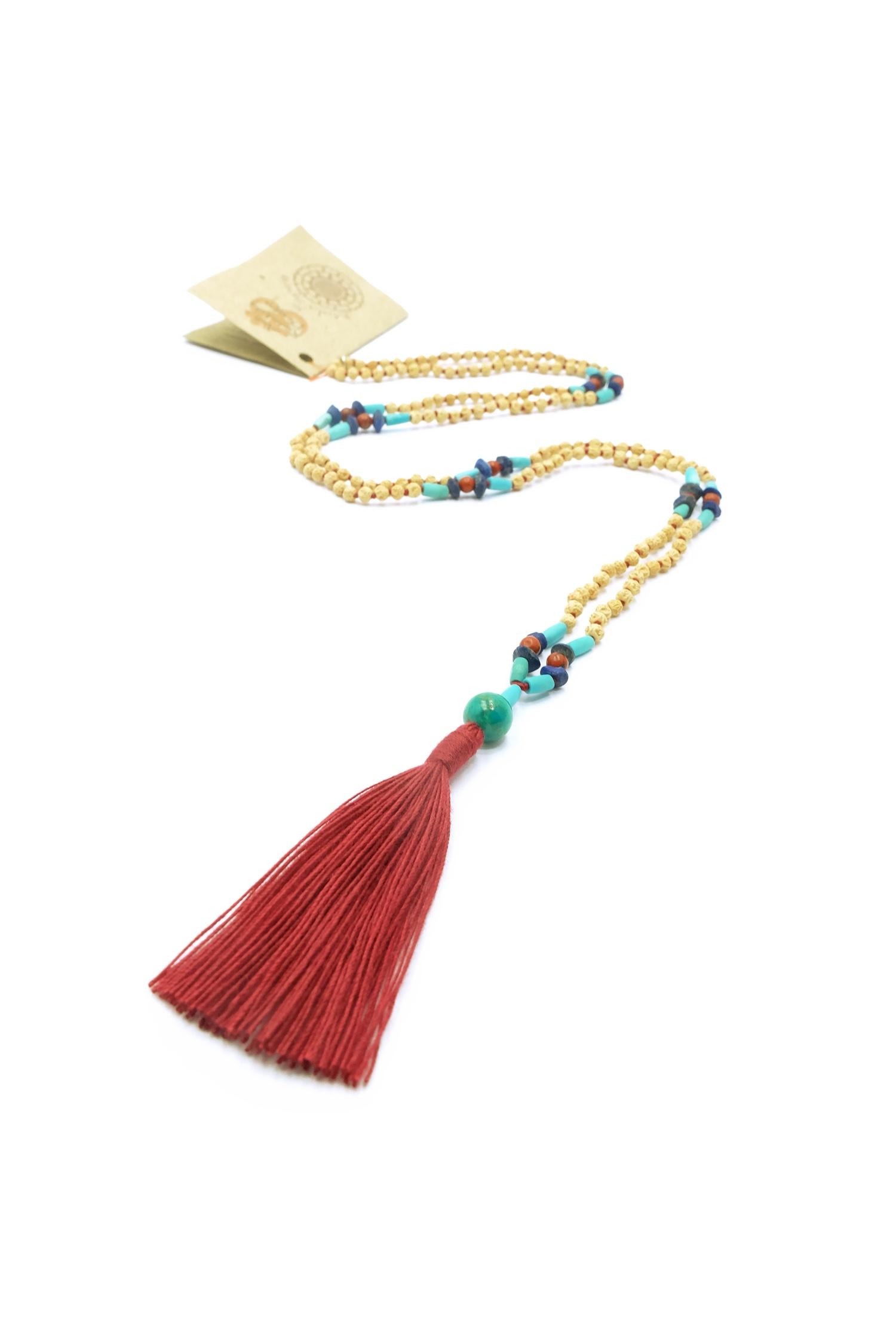 Spiritual Warrior mala necklace