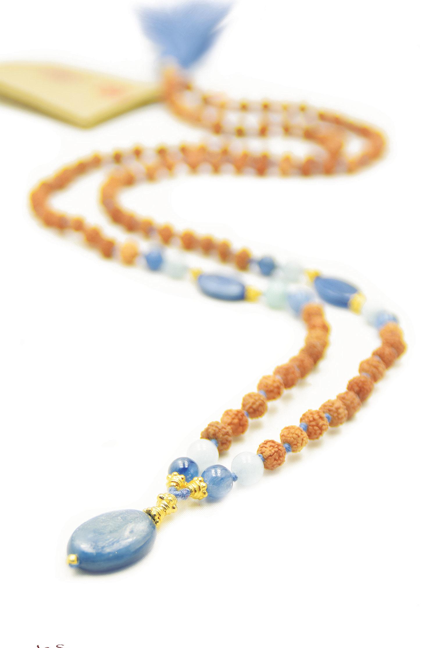 Spiritual Guidance mala necklace