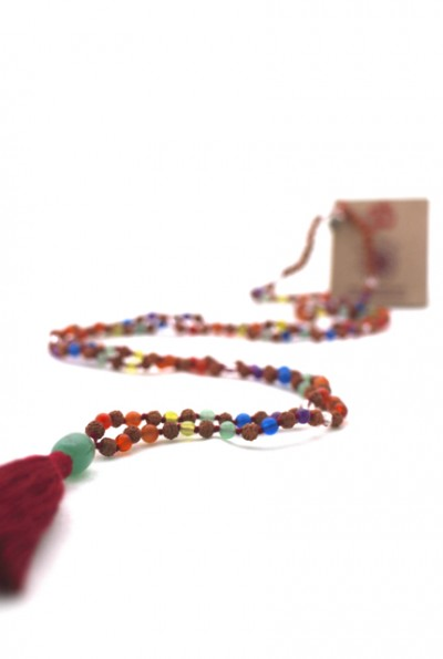 Gemstones meaning in the malas of the mala spirit collection