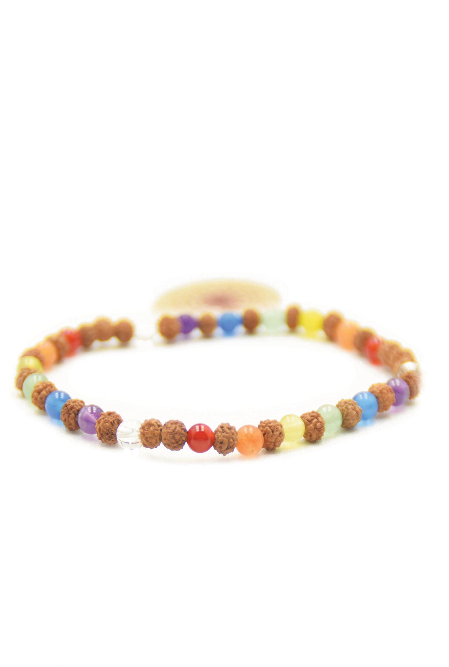 Chakra Power mala bracelet