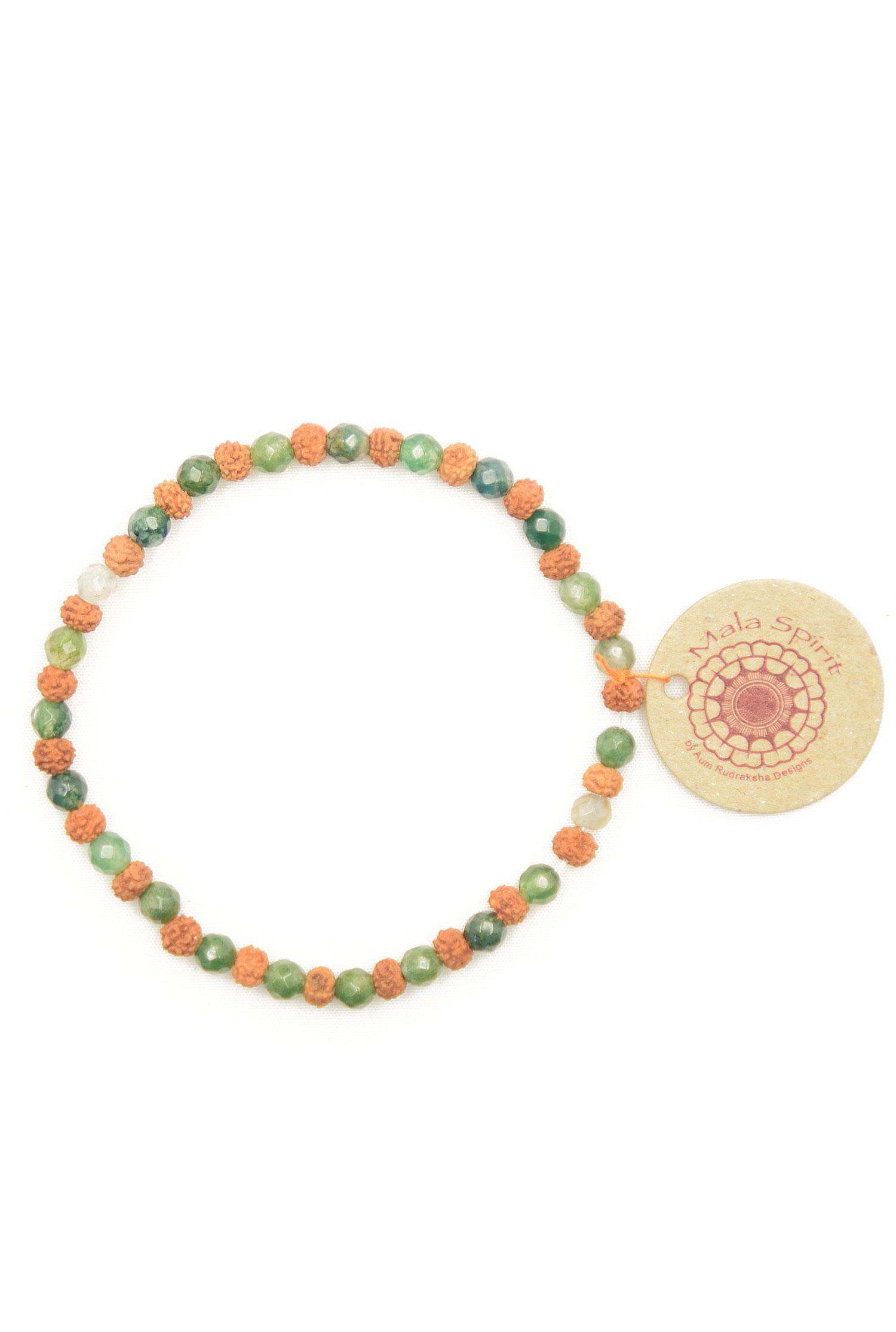 Moss-agate-mala-bracelet