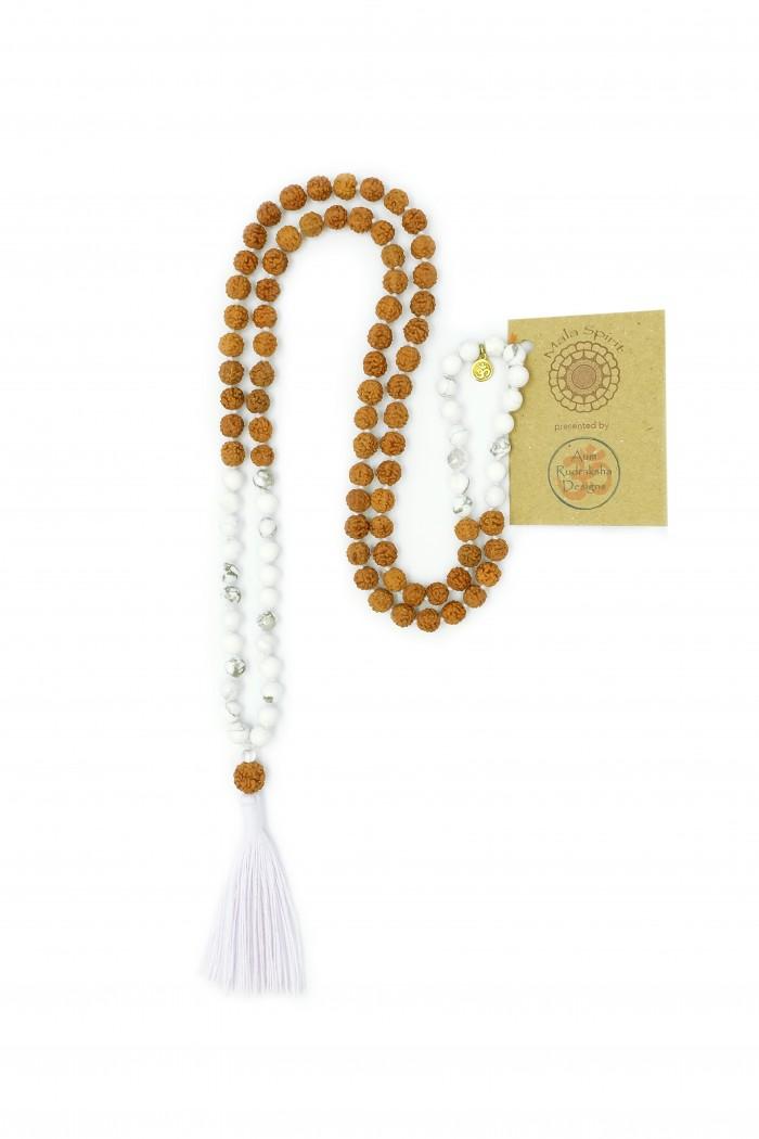 Howlite-mala-necklace
