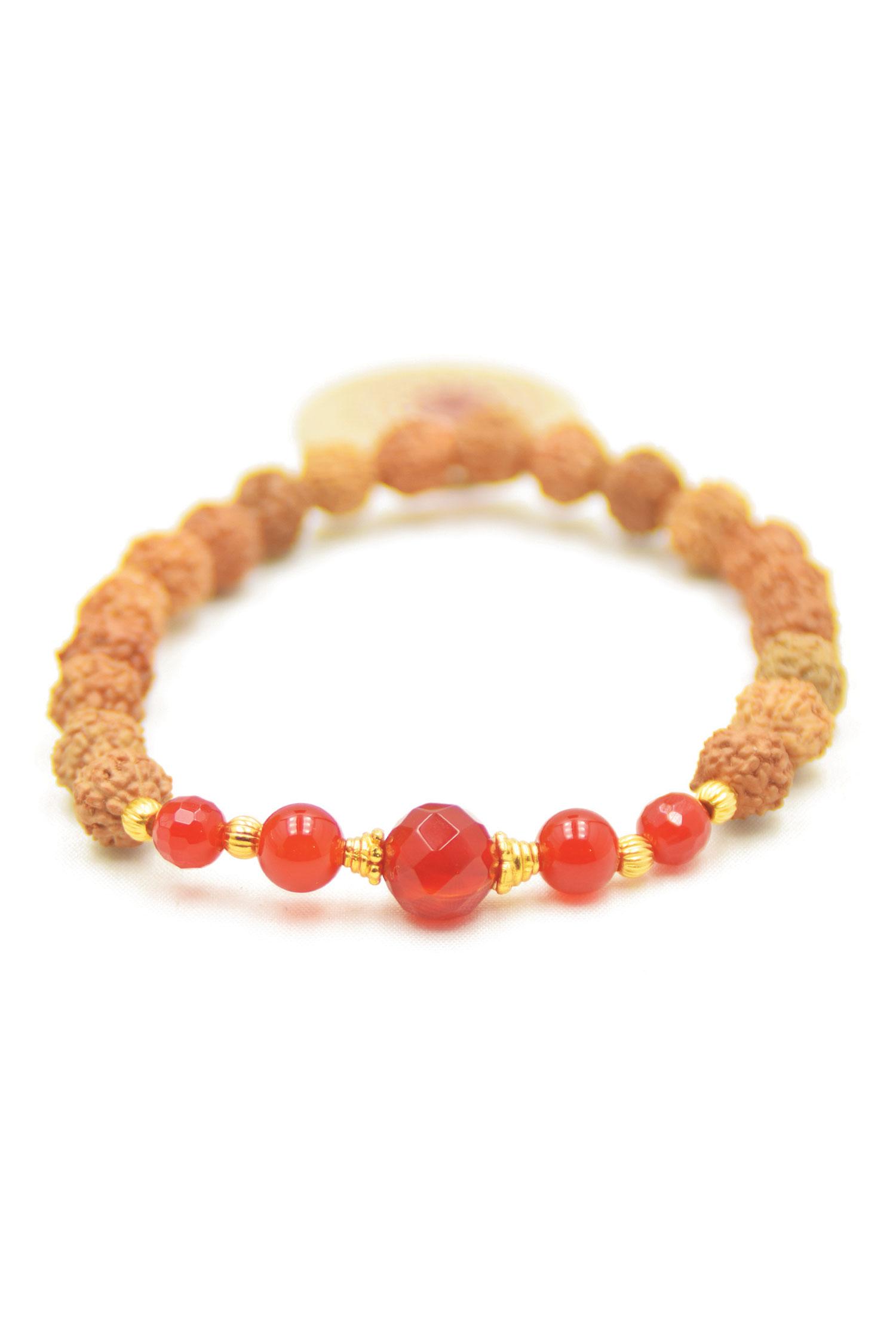 Pray And Love Mala Bracelet
